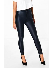 Lara High Rise Coated Skinny Jeans afbeelding