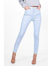 Molly 5 Pocket Pastel Denim Skinny Jeans afbeelding