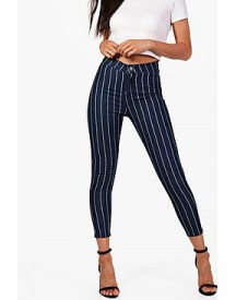 Petite Libby Stretch Stripe Tube Jean afbeelding