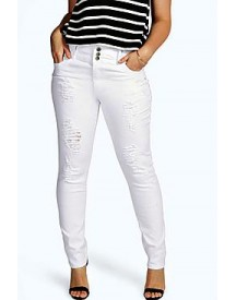 Plus Mel High Waisted Stretch Skinny Jeans afbeelding