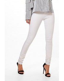 Tall Lara White High Waisted Skinny Jeans afbeelding