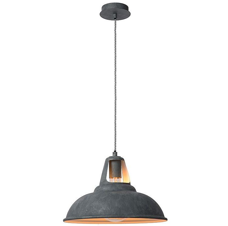 Image Lucide - Markit Hanglamp - Grijs - Small