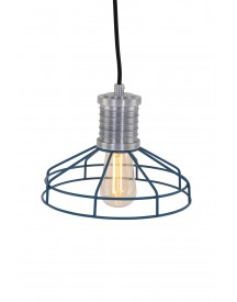 Anne Lighting - Wire-o Hanglamp - Blauw afbeelding