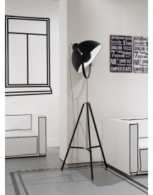 Its About Romi - Hollywood Vloerlamp - Zwart afbeelding