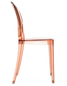 Kartell - Victoria Ghost Stoel - Transparant Roze afbeelding