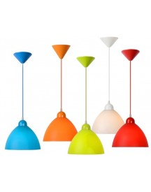 Lucide - Coco Hanglamp - Wit afbeelding