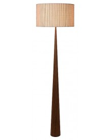 Lucide - Conos Vloerlamp - Hout afbeelding