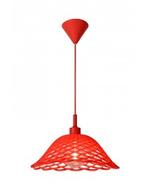 Lucide - Corti Hanglamp - Rood afbeelding