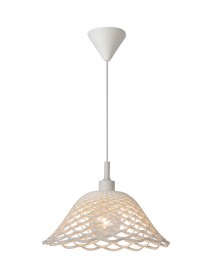 Lucide - Corti Hanglamp - Wit afbeelding