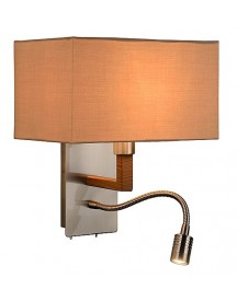 Lucide - Festa Wandlamp - Taupe afbeelding