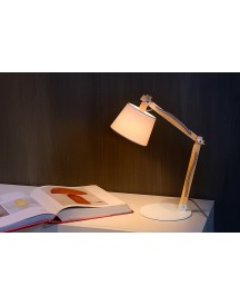Lucide - Olly Bureaulamp - Wit afbeelding