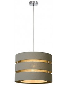 Lucide - Tonio Hanglamp - Taupe afbeelding