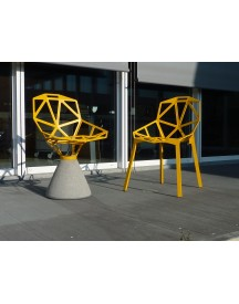 Magis - Chair One Concrete - Wit afbeelding