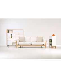 Woodman - Southbury Roomdivider - Wit afbeelding