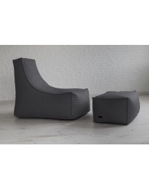 Xoft Living - Seal Chair Zitzak - Antraciet afbeelding