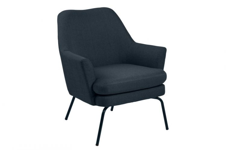 Image Fauteuil Sisi Donkerblauw
