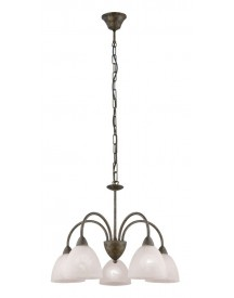 Hanglamp Dionis Roest 5 Lichts afbeelding