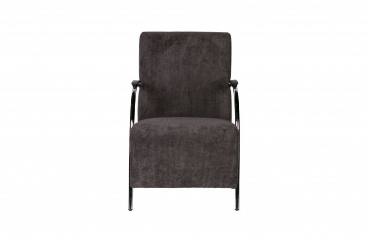 Image Halifax Fauteuil Ribstof Antraciet