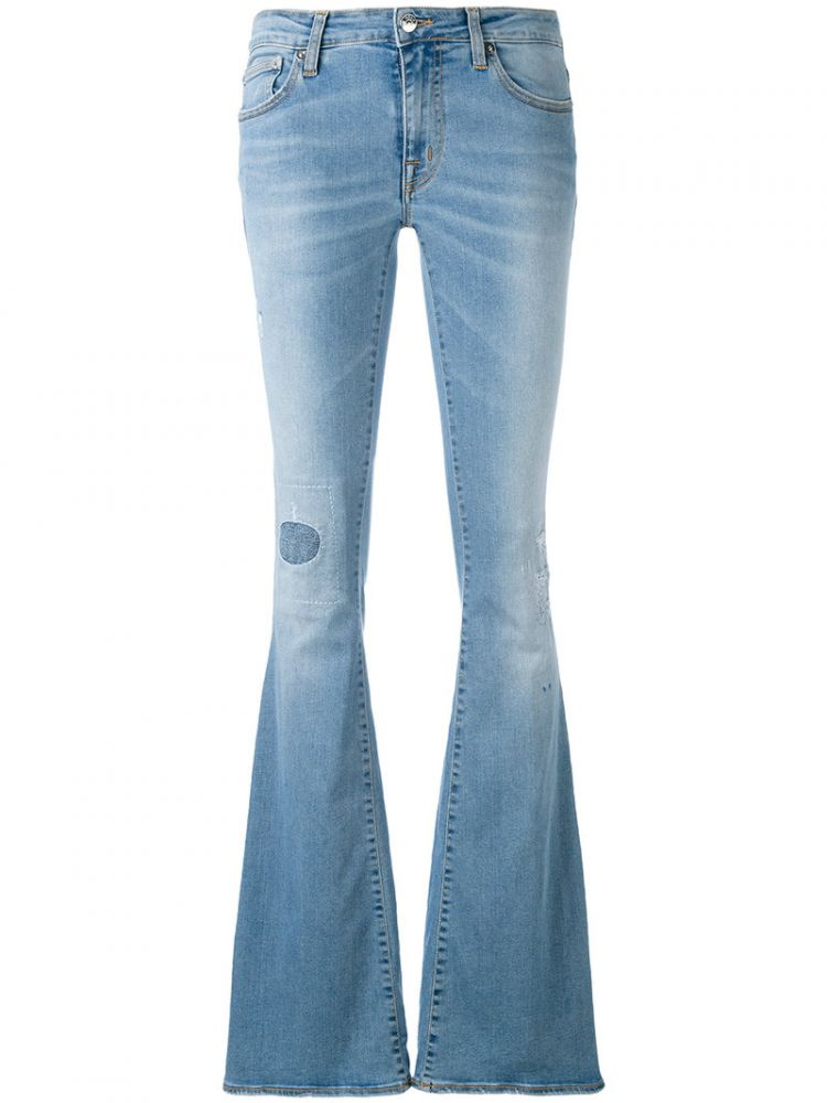 Image +people - Woodstock Jeans - Women - Cotton/polyester/spandex/elastane - 29