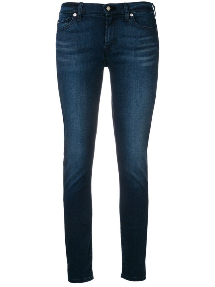 Image 7 For All Mankind Classic Skinny Jeans - Blauw