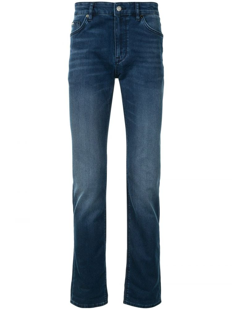 Image Boss Slim-fit Jeans - Blauw