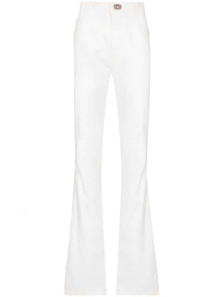 Image Bottega Veneta Flared Jeans - Wit