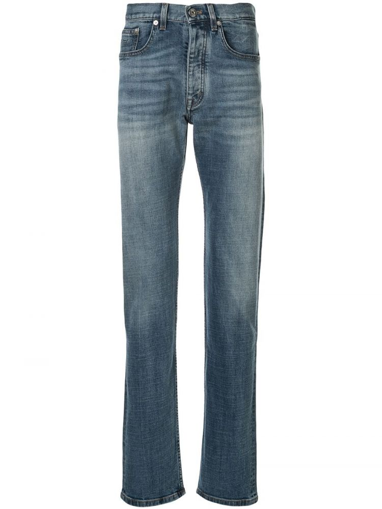 Image Brioni Straight Jeans - Blauw