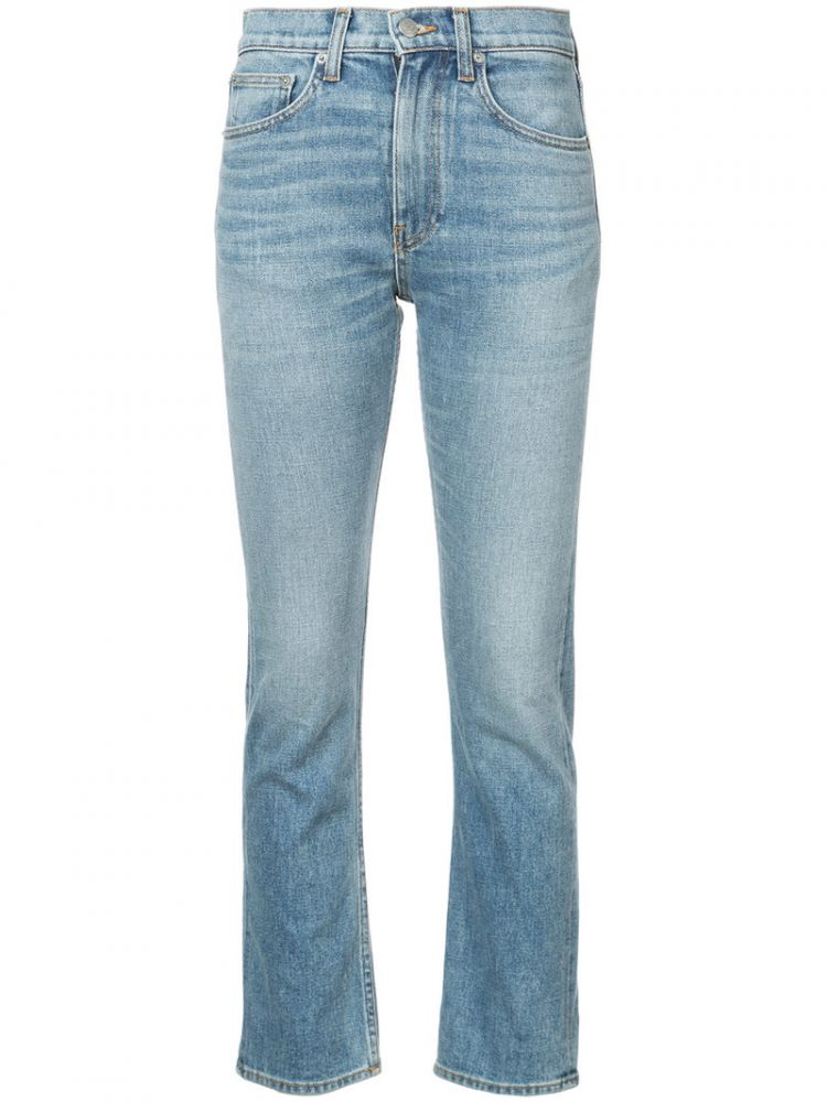 Image Brock Collection - Medium Vintage Denim Jeans - Women - Cotton/polyurethane - 6