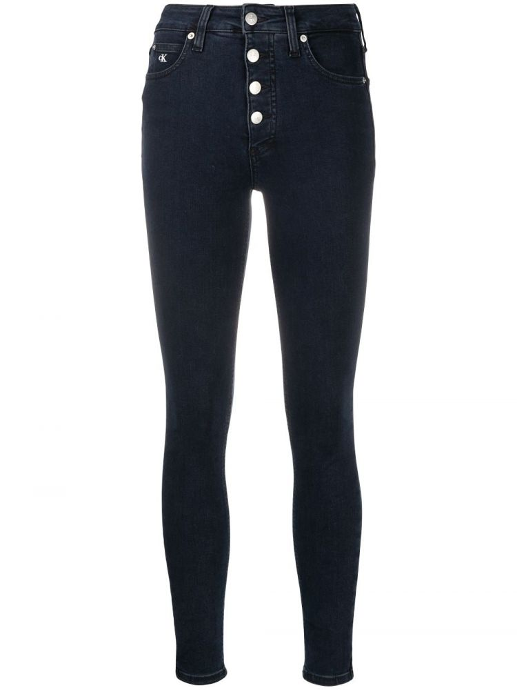 Image Calvin Klein Jeans Skinny Jeans - Blauw