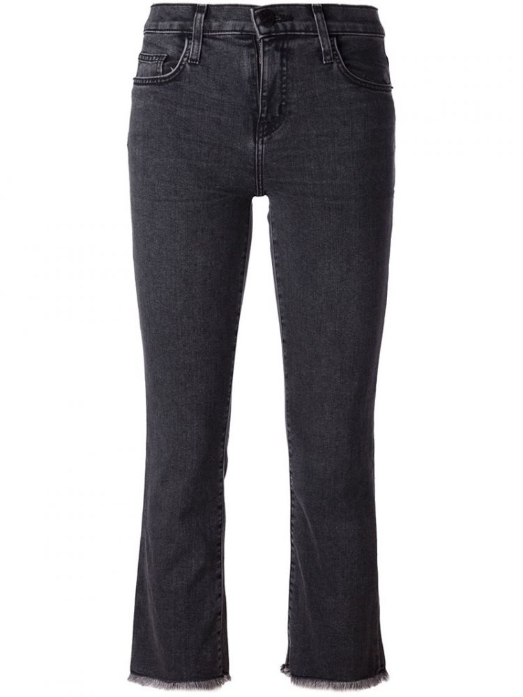 Image Current/elliott - Cropped Jeans - Women - Cotton/polyester - 25