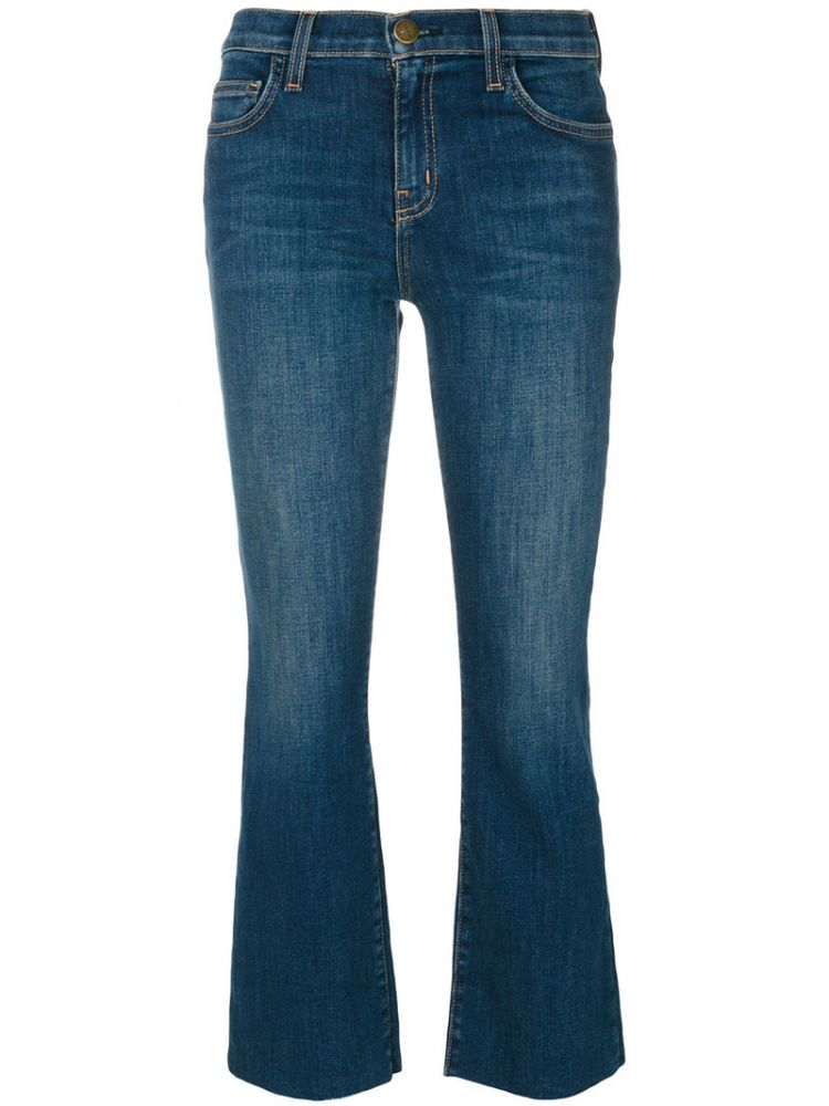 Image Current/elliott - The Kick Jeans - Women - Cotton/spandex/elastane - 28