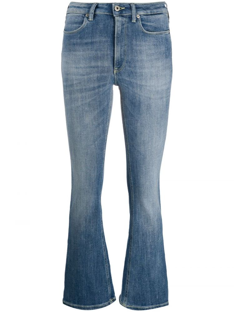 Image Dondup Cropped Jeans - Blauw
