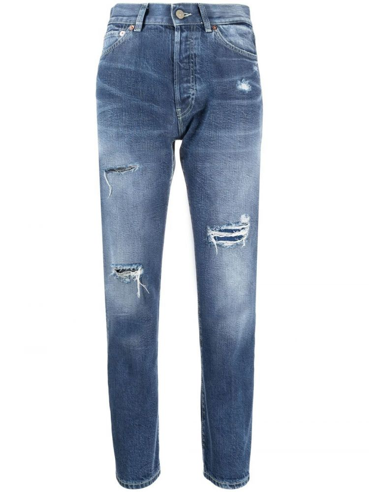 Image Dondup Skinny Jeans - Blauw