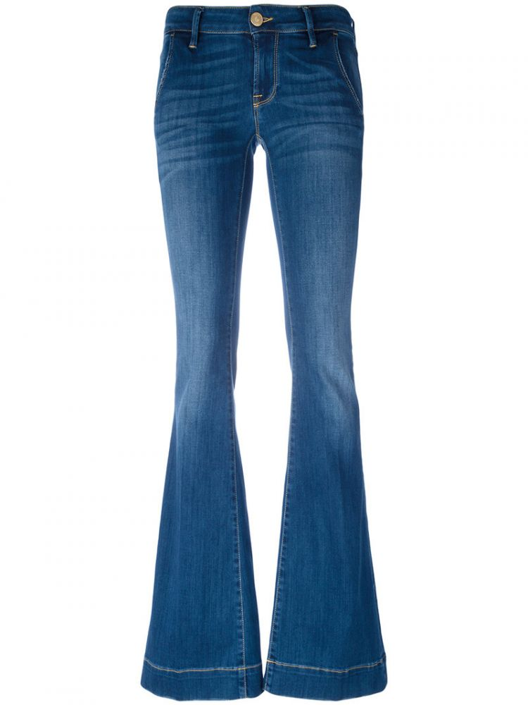 Image Don't Cry - Bootcut Jeans - Women - Cotton/polyester/spandex/elastane - 27