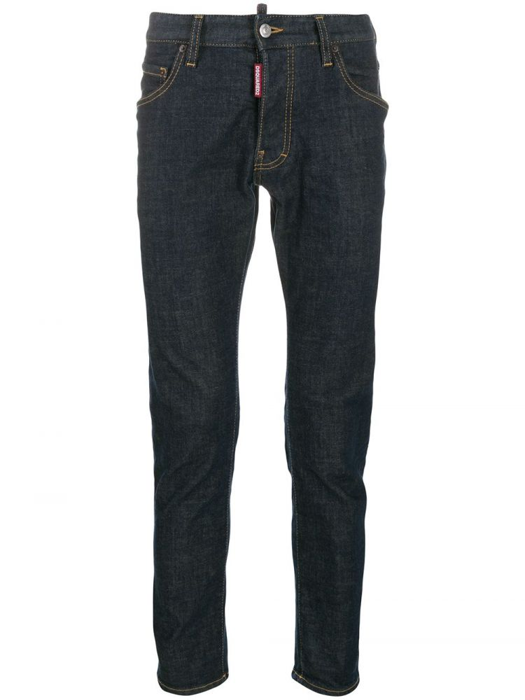 Image Dsquared2 Slim-fit Jeans - Blauw