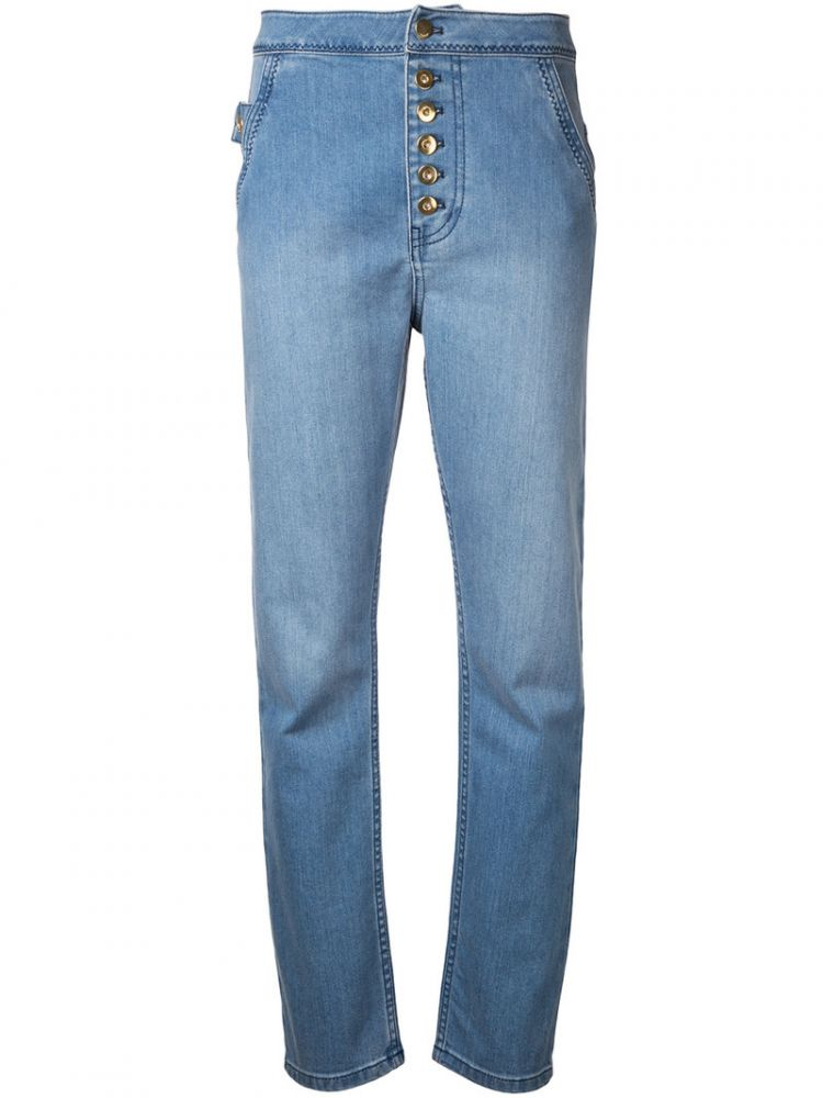 Image Ellery - Regular Length Skinny Jeans - Women - Cotton - 28