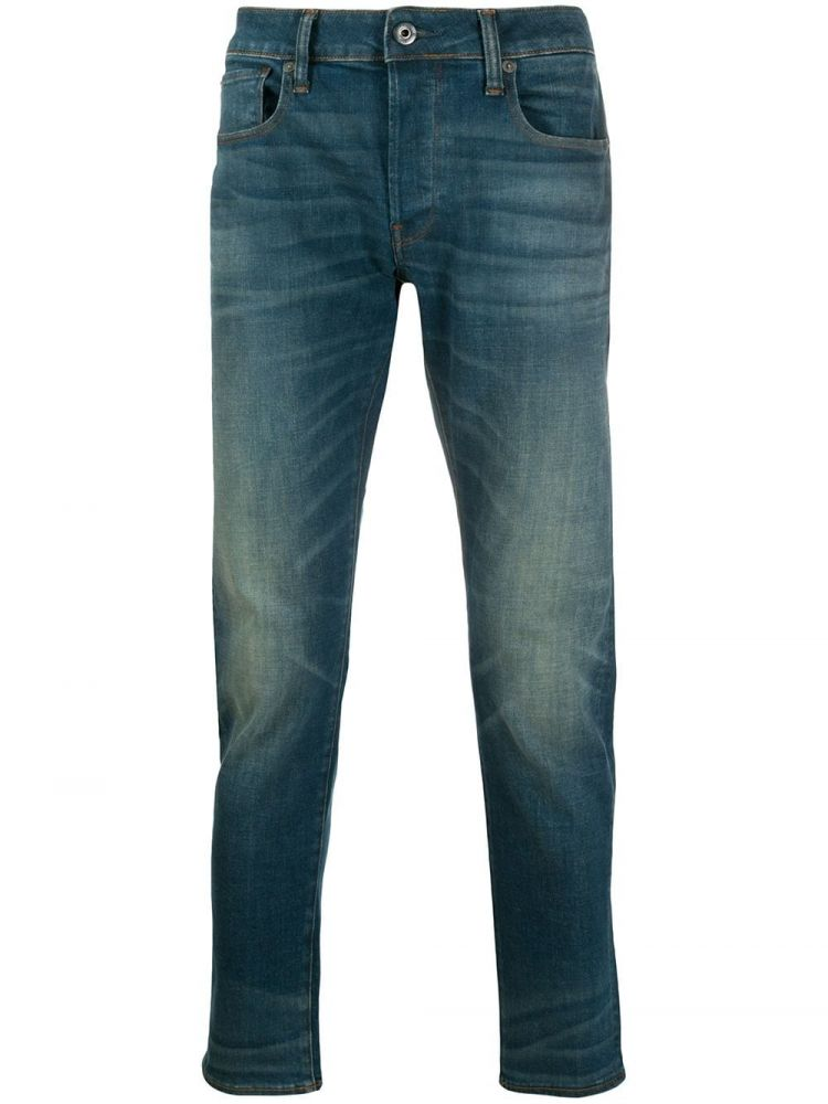 Image G-star Raw Slim-fit Jeans - Blauw