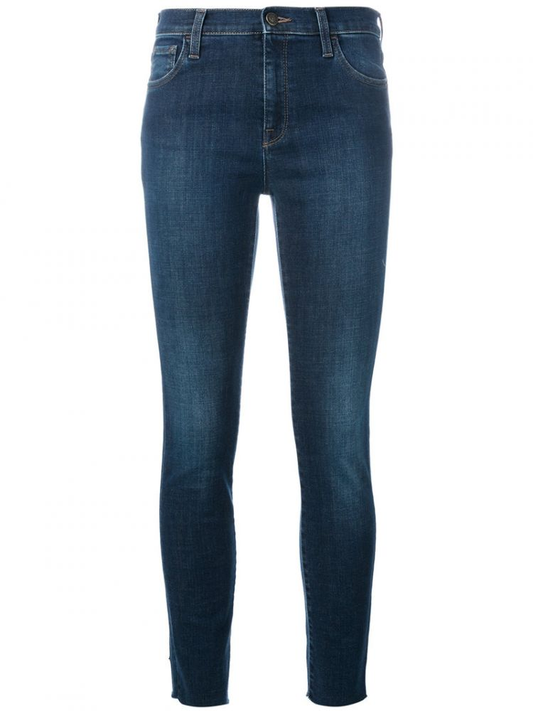 Image Gucci - Embroidered Skinny Jeans - Women - Cotton/polyester/spandex/elastane - 27