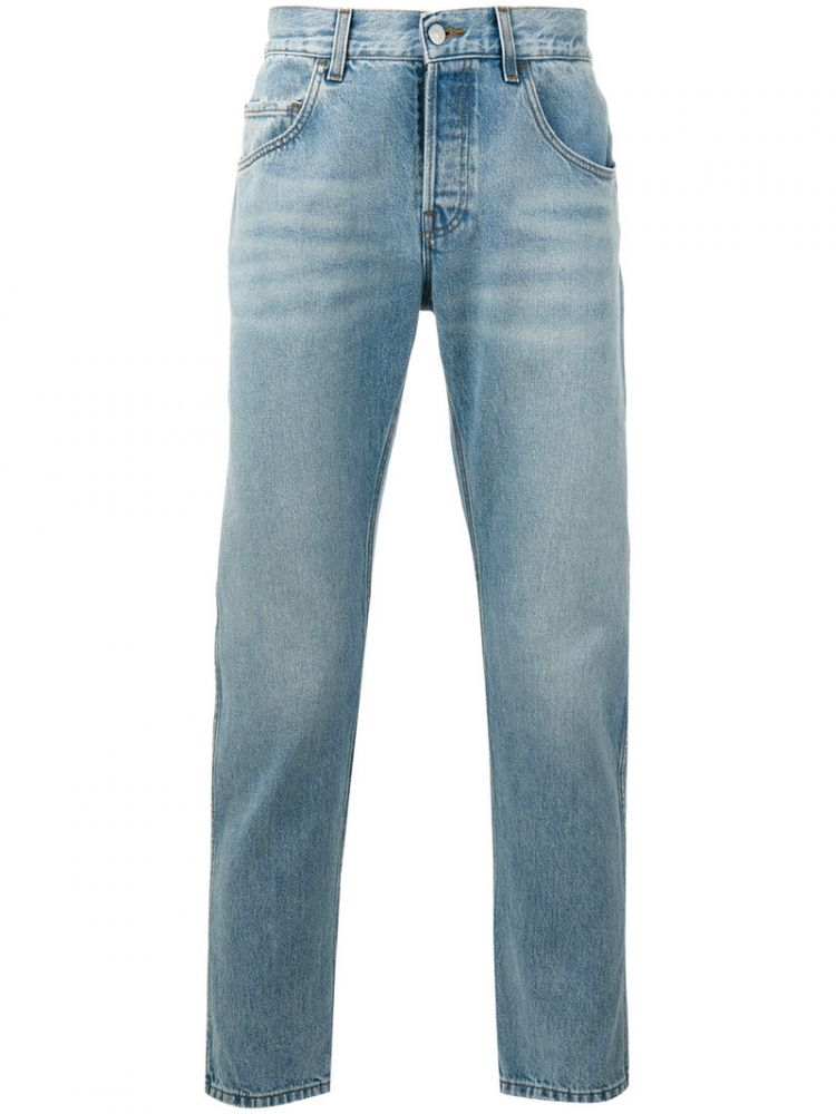 Image Gucci - Loved Embroidered Jeans - Men - Cotton - 33