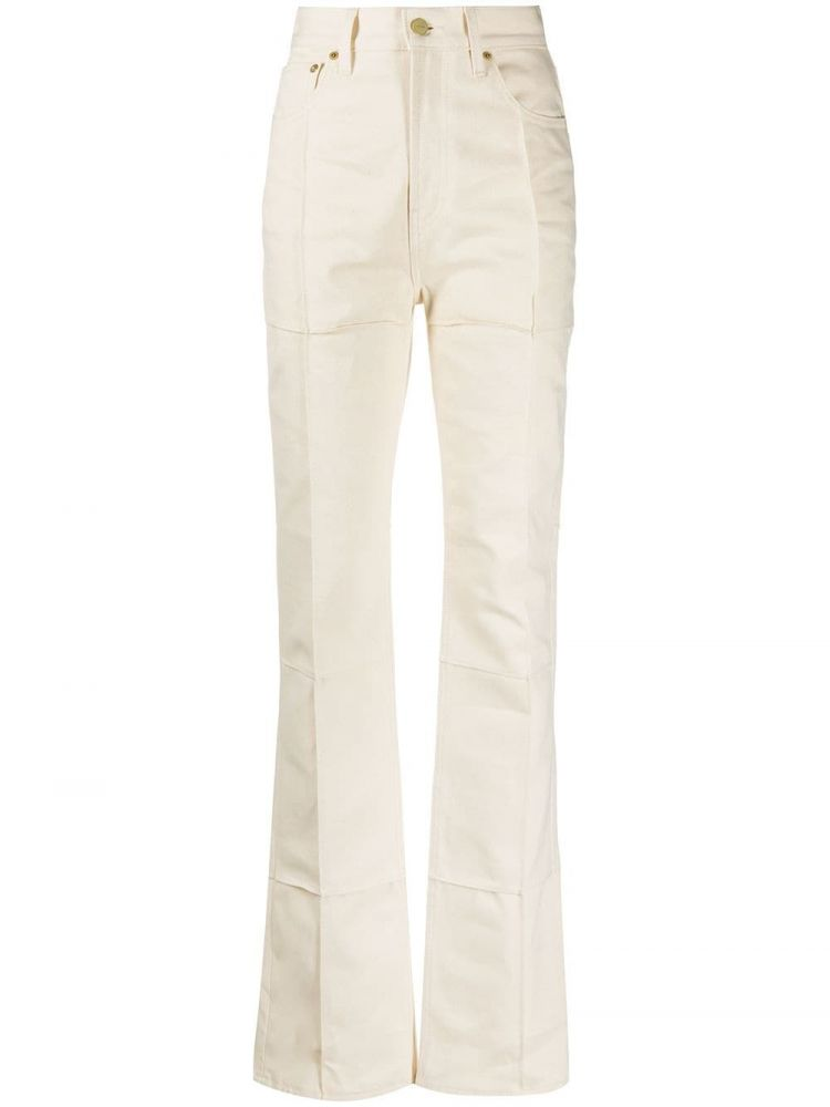 Image Jacquemus Bootcut Jeans - Nude