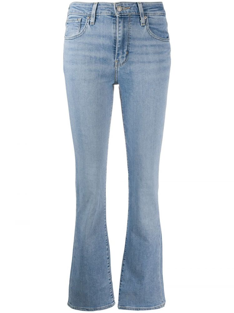 Image Levi's Bootcut Jeans - Blauw