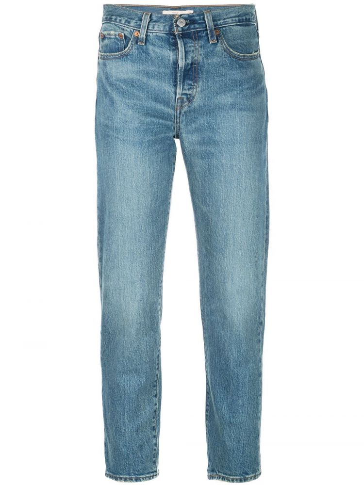 Image Levi's Wedgie Icon Jeans - Blauw