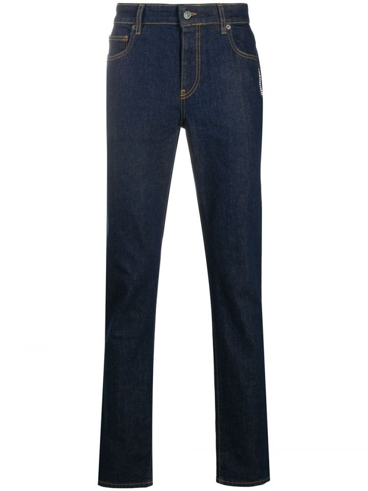 Image Moschino Slim-fit Jeans - Blauw