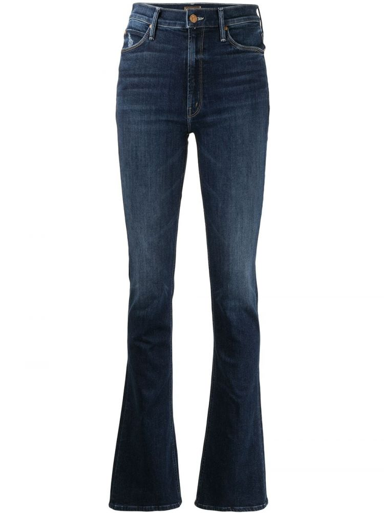 Image Mother Bootcut Jeans - Blauw