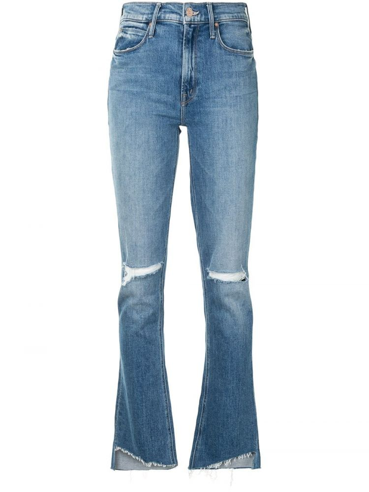Image Mother High Waist Jeans - Blauw