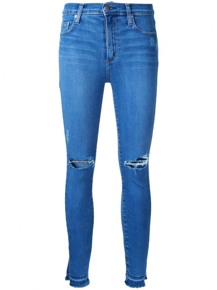 Image Nobody Denim - Cult Skinny Ankle Beloved - Women - Cotton/elastodiene/polyester - 30