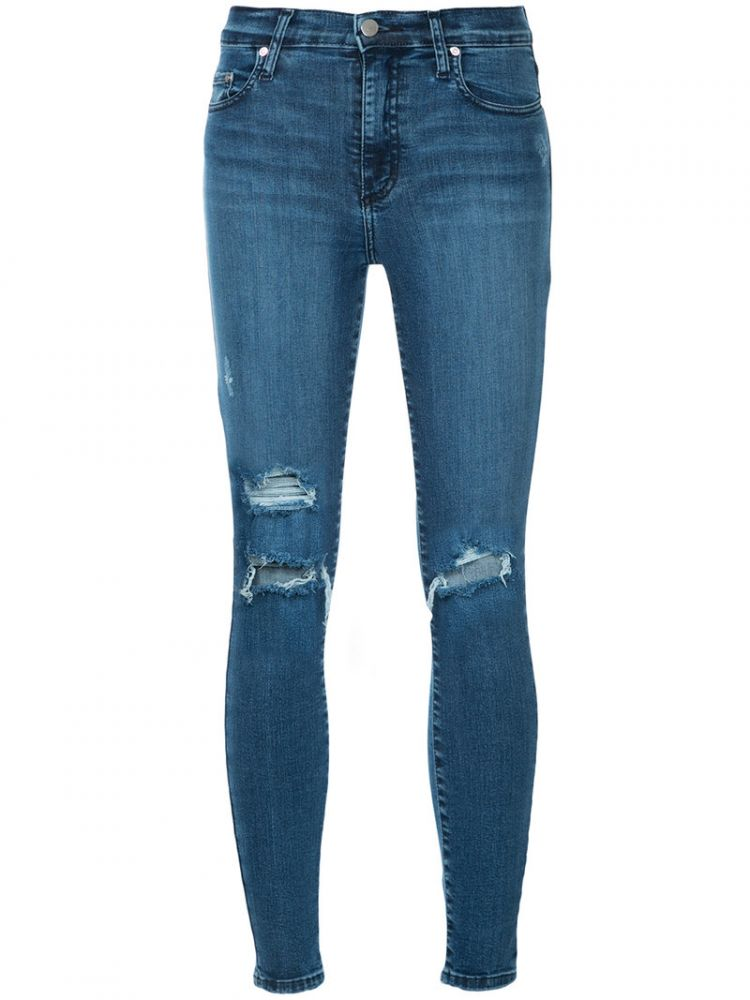 Image Nobody Denim - Cult Skinny Ankle Intrigued Jeans - Women - Cotton/polyester/spandex/elastane - 25