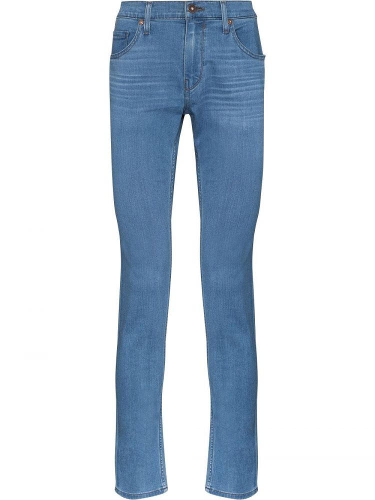 Image Paige Skinny Jeans - Blauw