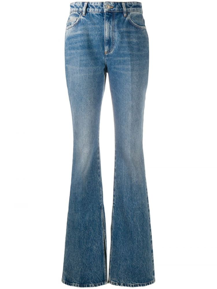 Image The Attico High Waist Jeans - Blauw