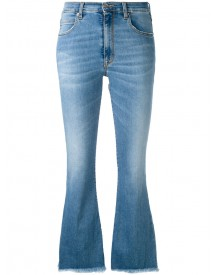 +people - Ingrid Cropped Jeans - Women - Cotton/polyester/spandex/elastane - 28 afbeelding